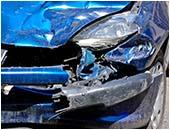 自損事故による破損
