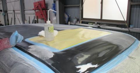 劣化した塗装の剥離