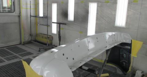 リアバンパー補修・塗装