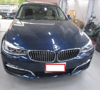BMW 3シリーズ グランツーリスモ 板金 塗装