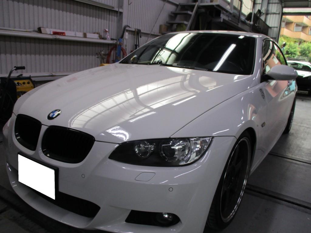 [目黒] BMW 335i キズ修理