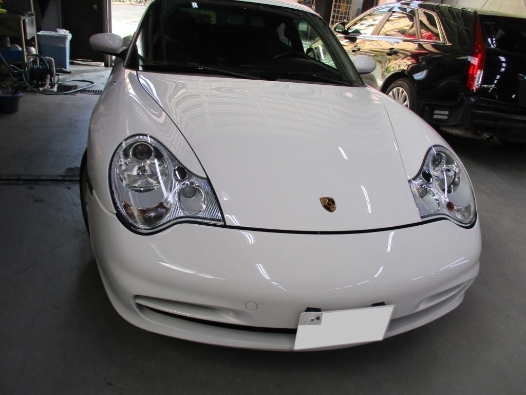 【武蔵野市】ポルシェ 911 996 キズ修理