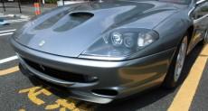 フェラーリ,550マラネロ,修理,塗装