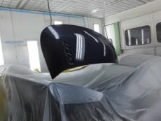 ポルシェ ケイマン GT4 板金塗装