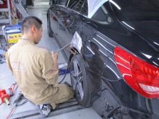 メルセデスベンツ CLA45 キズへこみ修理