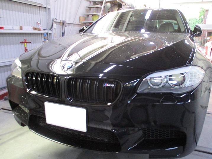 【目黒区】BMW M5 F10 テールレンズ スモーク塗装