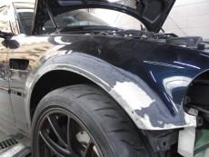 BMW M3 E46 キズ修理