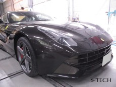 フェラーリ,F12,ベルリネッタ,ホイール,修理,塗装,エステック