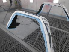 メルセデスベンツ G550 ゲレンデ 修理