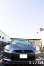 ニッサン,GT-R,R35,オーバーフェンダー,塗装,取付,カスタム