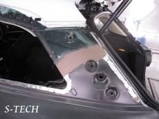 BMW,MINI,クーパーS,ペースマン,左ドア,左クオータパネル,板金,塗装,エステック