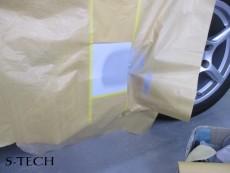 ポルシェ,ボクスター,サイドステップ,修理,塗装,エステック