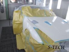 ニッサン,GT-R,R35,ボンネット,修理,塗装,エステック