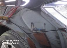 BMW,X3,F25,フロントバンパー,右フロントフェンダ,板金,塗装,修理,エステック