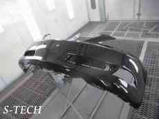 レクサス,LS460,フロントバンパー,飛び石,傷,修理,塗装,エステック