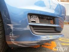 フォルクスワーゲン,VW,ゴルフ,ヴァリアント,フロントバンパー,キズ,割れ,凹み,板金,塗装,修理,エステック