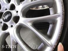 BMW,MINI,クーパーS,ホイール,傷,修理,塗装,エステック
