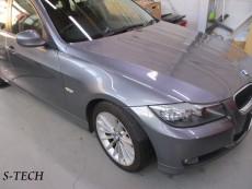 BMW,320i,E91,右フロントフェンダー,キズ,凹み,板金,塗装,修理,事例,エステック