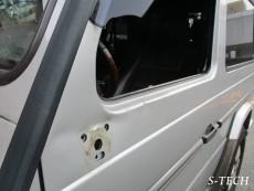 メルセデスベンツ,G550,W463,左ドア,左ドアミラー,傷,凹み,板金,塗装,修理,エステック