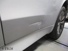 BMW,X5,F15,左リアドア,左サイドステップ,キズ,凹み,板金,塗装,修理,エステック