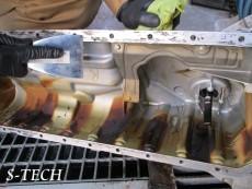 BMW,3シリーズ,エンジンオイル,漏れ,故障,修理,エステック