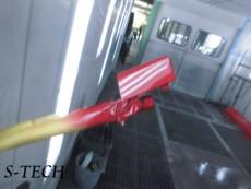 メルセデスベンツ,CLA45,W204,サイドシルカバー,キズ,修理,塗装,エステック