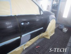 メルセデスベンツ,GL350,X164,右フロントフェンダー,右フロントドア,右サイドステップ,右クオータパネル,右ドアミラーカバー,キズ,ヘコミ,パーツ,交換,板金,塗装,修理,エステック