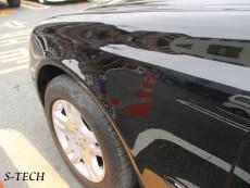 メルセデスベンツ,Eクラス,E280,W211,左フロントフェンダー,リアバンパー,キズ,凹み,板金,塗装,修理,エステック
