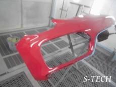 ポルシェ,ボクスター,GTS,フロントバンパー,キズ,修理,塗装,エステック