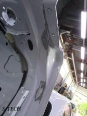 レクサス,GS300h,リアバンパー,トランク,右クオータパネル,バックパネル,テールレンズ,エネルギーアブソーバー,傷,凹み,変形,板金,塗装,修理,パーツ,交換,エステック