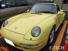 ポルシェ,911,カレラ,993,車検,整備,ブレーキ,修理,エステック