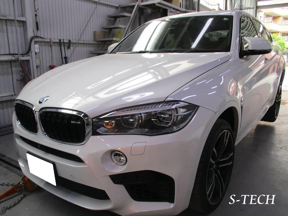 【世田谷区】BMW X6 M 純正ホイール キズ 修理塗装 ホイールリペア