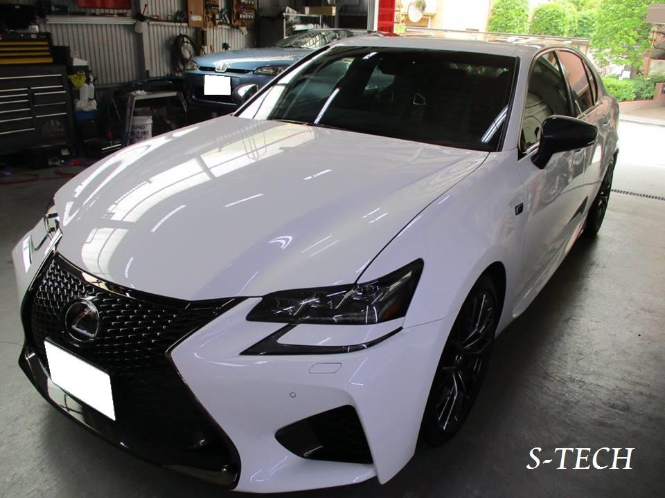 【足立区】レクサス GS 純正ホイール キズ 修理塗装 ホイールリペア