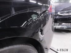 テスラ,モデルS,左クオータパネル,リアバンパー,キズ,凹み,板金,塗装,修理,エステック