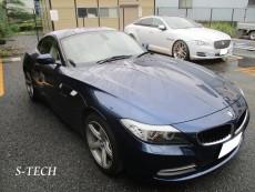 BMW,Z4,E89,右ドア,右クオータパネル,右サイドステップ,キズ,凹み,純正,パーツ,交換,板金,塗装,修理,エステック