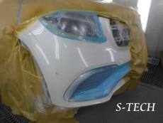 メルセデスベンツ,GLS63,AMG,フロントバンパー,キズ,修理,塗装,エステック