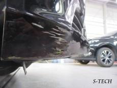 レクサス,LS600h,フロントバンパー,キズ,塗装剥がれ,修理,塗装,修理,エステック