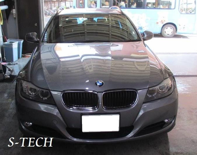 【練馬区】BMW 320i E91 バックドア 凹み 板金塗装