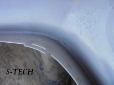 ポルシェ,ケイマン,GT4,フロントバンパー,キズ,割れ,修理,塗装,エステック