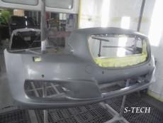 ジャガー,XJ,フロントバンパー,キズ,修理,塗装,エステック