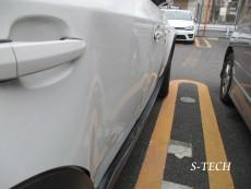 BMW,X3,E83,右側面,右フロントドア,右リアドア,右サイドステップ,右クオータパネル,キズ,ヘコミ,板金修理,純正,パーツ,交換,板金,塗装,修理,エステック