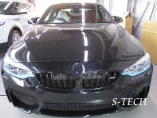BMW,M4,F8X,フロントバンパー,キズ,変形,新品,交換,塗装,エステック