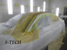 BMW,235i,F22,左クオータパネル,キズ,ヘコミ,板金,塗装,修理,エステック