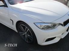 BMW,4シリーズ,F32,右フロントフェンダー,キズ,凹み,板金,塗装,修理,エステックBMW,4シリーズ,F32,右フロントフェンダー,キズ,凹み,板金,塗装,修理,エステック