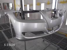 BMW,320i,E90,フロントバンパー,キズ,修理,塗装,エステック