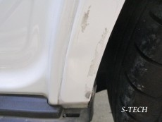 メルセデスベンツ,GLA250,X156,左クオータパネル,左リアドア,キズ,ヘコミ,純正,部品,交換,板金,塗装,エステック